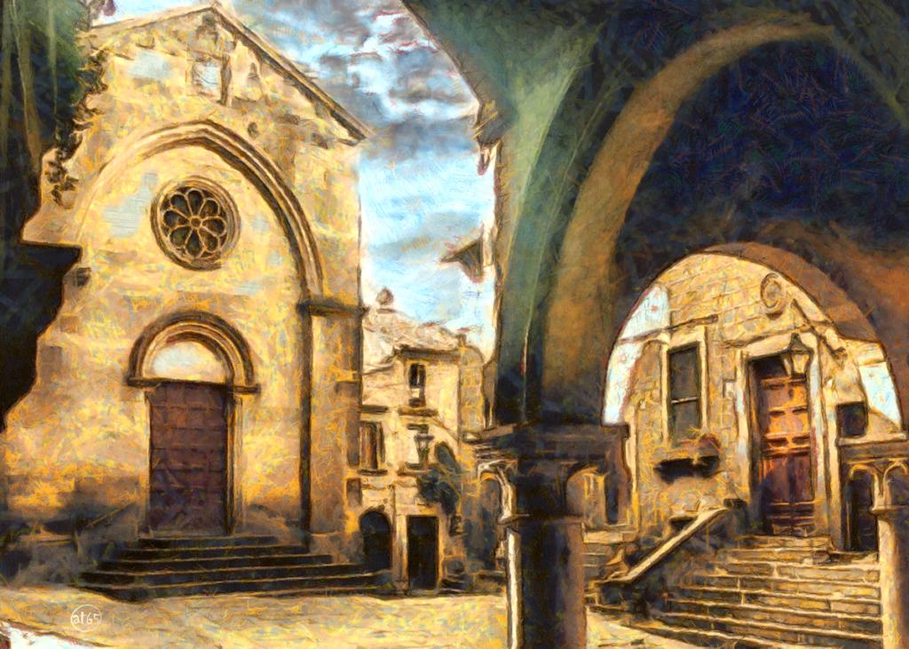 Medieval district, Viterbo