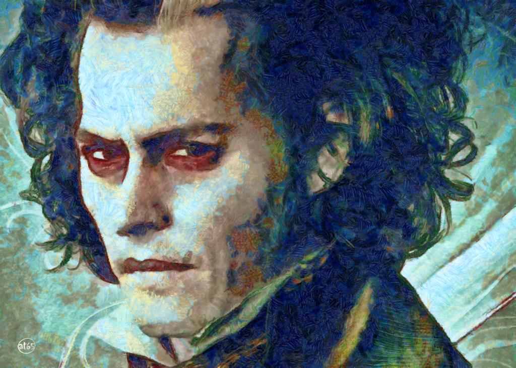 Johnny Depp (Sweeney Todd)